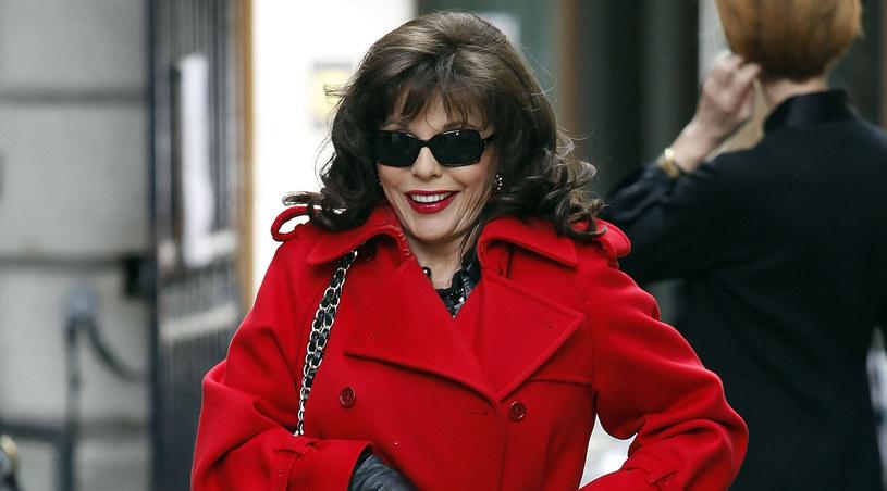 "Joan Collins, słynna Alexis z ""Dynastii"" /Neil Mockford /Getty Images/Flash Press Media"