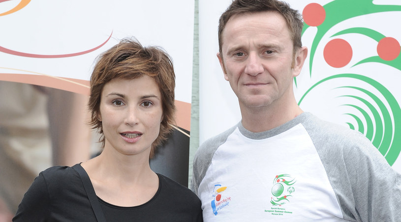 Joanna Brodzik i Paweł Wilczak /Andras Szilagyi /MWMedia