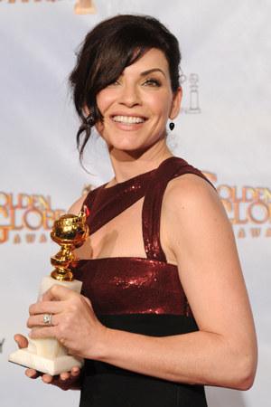 Julianna Margulies na rozdaniu Złotych Globów /Kevin Winter /Getty Images/Flash Press Media