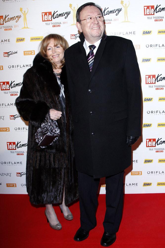 Już wkrótce aktor z żoną Jolantą będzie obchodził trzydziestą rocznicę ślubu. /AKPA
