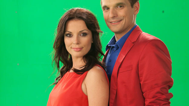 Kasia (Katarzyna Glinka) i Ksawery (Sebastian Cybulski) nareszcie razem. Ale na jak długo? To zależy od Kingi. /Agencja W. Impact