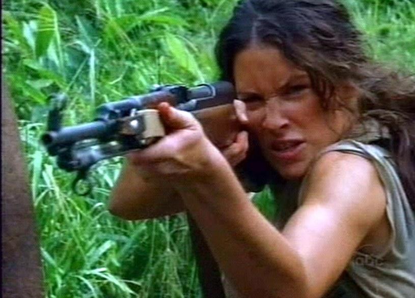 Kate (Evangeline Lilly) nie zagoni nas siłą do oglądania serialu. /Splashnews