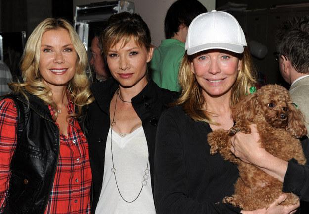 Katherine Kelly Lang, Sarah Brown i Lesley-Anne Down /AFP