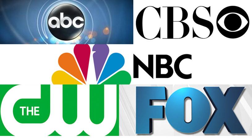 Kogo wybrali najwięksi gracze na telewizyjnym rynku? /NBC, CW, CBS, FOX, NBC, ABC /