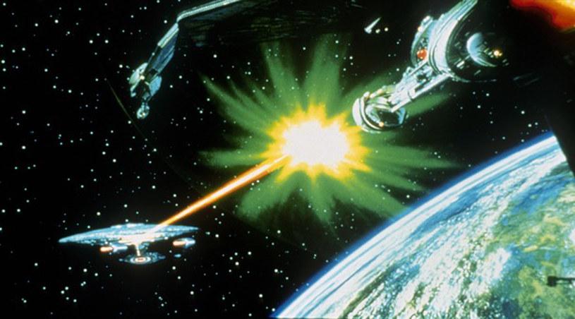 """""""Kosmos - ostateczna granica"""" - tymi słowami witał nas zawsze serial """"Star Trek"""" /AKPA"""