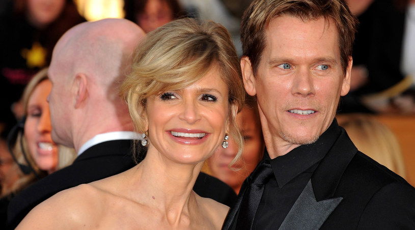 Kyra Sedgwick i Kevin Bacon na rozdaniu nagród SAG /Alberto E. Rodriguez /Getty Images/Flash Press Media