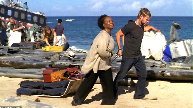 """L. Scott Caldwell w serialu """"Lost: Zagubieni"""" zagrała postać Rose Nadler /materiały prasowe"""