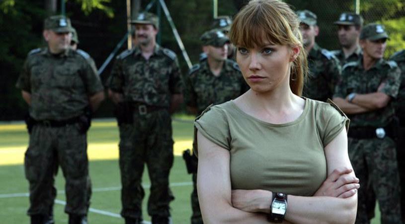Lara (Roma Gąsiorowska) na szkoleniu /TVP