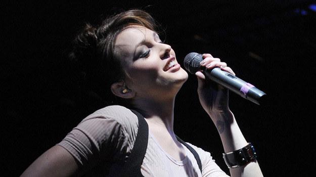 Leighton Meester jest także piosenkarką. Tutaj widzimy ją na koncercie  w Los Angeles /AFP