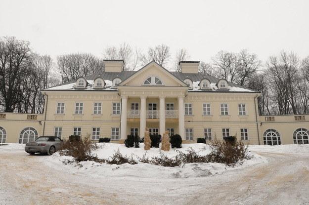 Luksusowy pałac Duszyńskich. Śmiłowice, 40 kilometrów od Krakowa /Agencja W. Impact