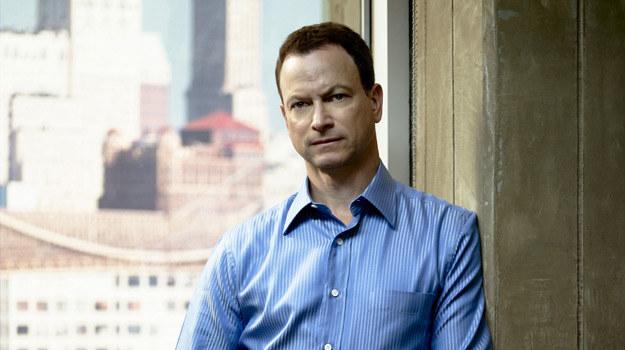"""Mac Taylor (Gary Sinise) z """"CSI: Kryminalnych zagadek Nowego Jorku"""" /Polsat"""