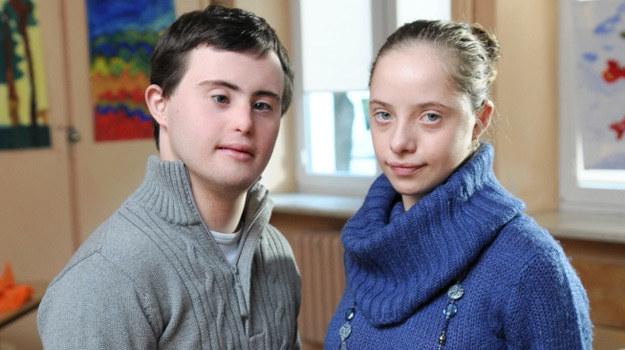 Maciej Lubicz (Piotr Swend) i Martynka (Natalia Antoszczak) /Agencja W. Impact