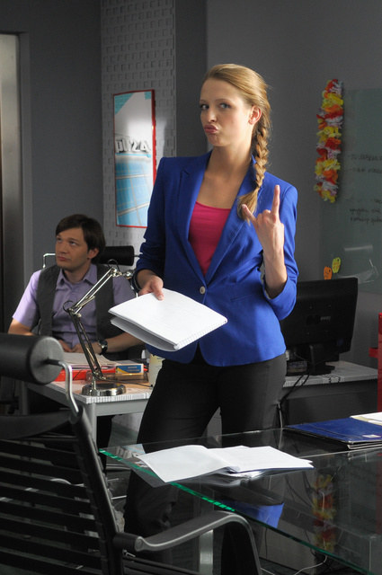 Magda Łaska, jako Agata /Agencja W. Impact