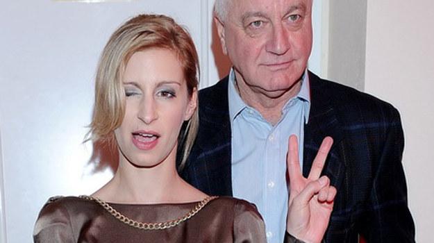Magda Schejbal ze swoim tatą /Agencja W. Impact