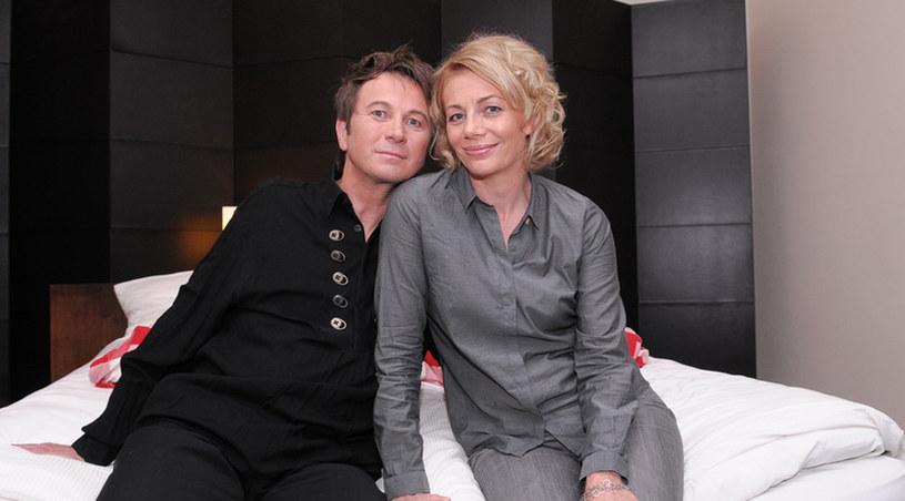"""Maja Barełkowska (""""Majka"""") i Piotr Cyrwus (""""Klan"""") są małżeństwem już 25 lat /Agencja W. Impact"""