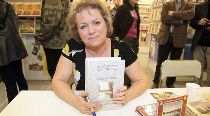 Małgorzata Kalicińska podczas Targów Książki /Podsiebierska /AKPA