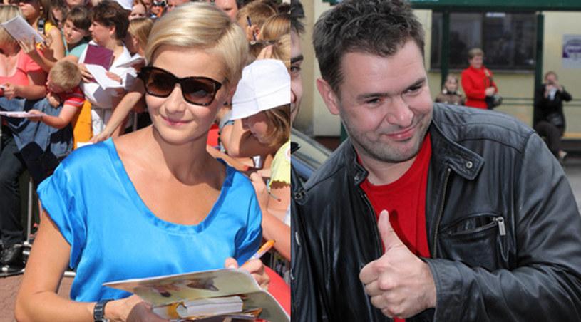 Małgorzata Kożuchowska i Tomasz Karolak /Agencja W. Impact