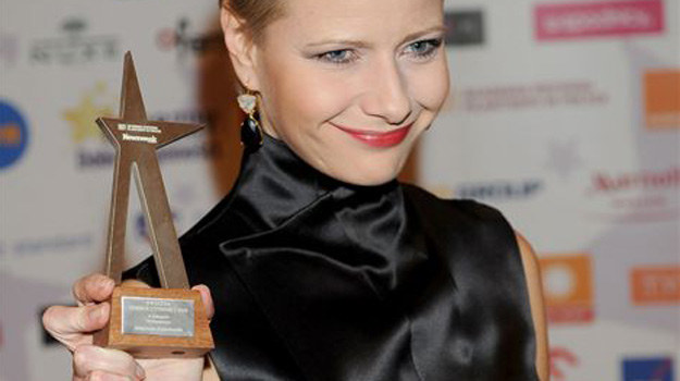 Małgorzata Kożuchowska z nagrodą /Agencja W. Impact