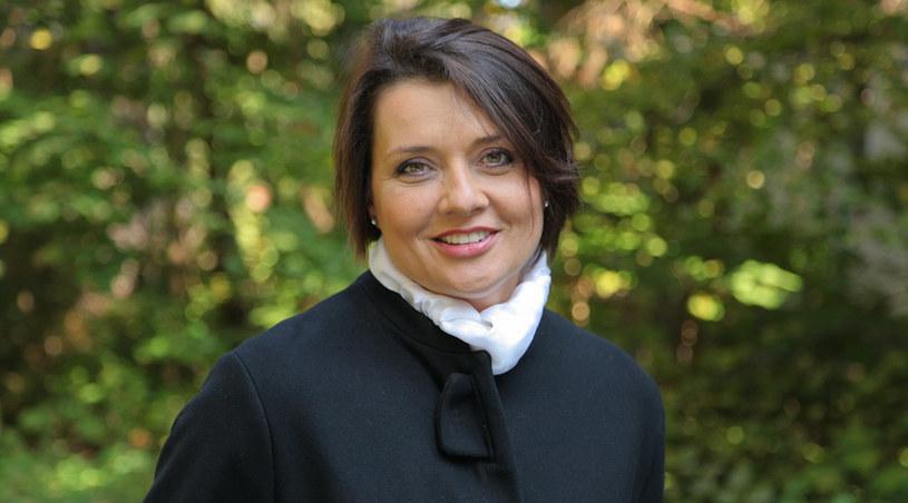 """Małgorzata Ostrowska-Królikowska, znana z roli Grażyny Lubicz w """"Klanie"""" /Agencja W. Impact"""