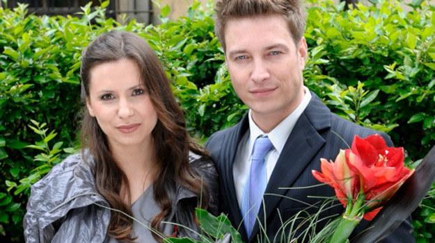 Małgosia (Anna Kerth) i Piotr (Maciej Jachowski) /Agencja W. Impact