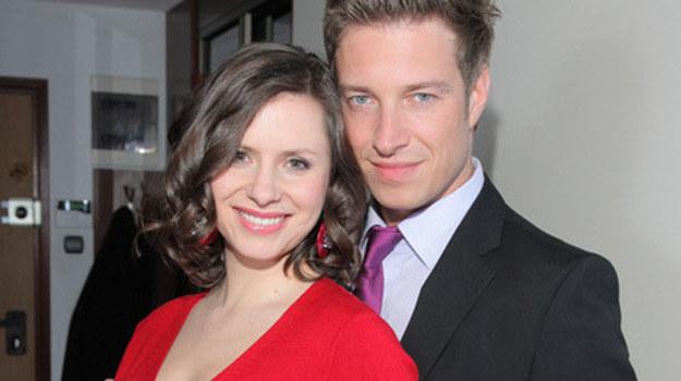 Małgosia Zimińska (Anna Kerth) i Piotr Czubak (Maciej Jachowski) /Agencja W. Impact