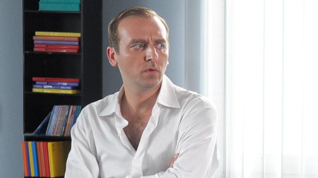 Marcin Wilk (Wojciech Mecwaldowski), gwiazda telewizji /Agencja W. Impact