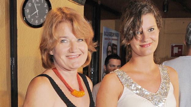 Maria Winiarska z córką Zosią /AKPA