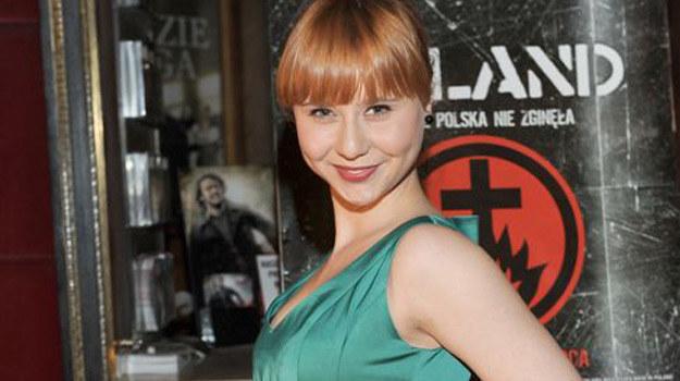"""Marta Powałowska na premierze """"Made In Poland"""". /Agencja W. Impact"""