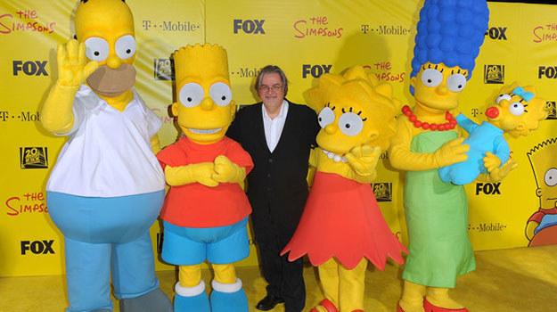"""Matt Groening: Amerykański twórca filmów animowanych, producent telewizyjny i pisarz. Stworzył seriale """"Simpsonowie"""" i """"Futurama"""". /AFP"""