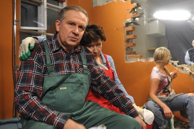 Męża Ireny gościnnie zagrał Tomasz Stockinger /Agencja W. Impact