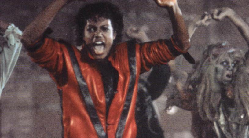 """Michael Jackson w kultowym """"Thrilerze"""" /materiały prasowe"""