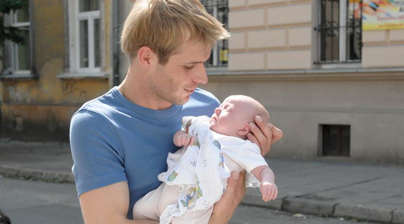 Michał do niedawna był przekonany, że to on jest ojcem Basi /Agencja W. Impact