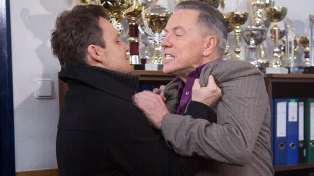 Michał jest wściekły na Igora, że uwiódł Zytę i przyczynił się do rozpadu jego małżeństwa. Do bójki dojdzie w odcinku 2204 . /Agencja W. Impact
