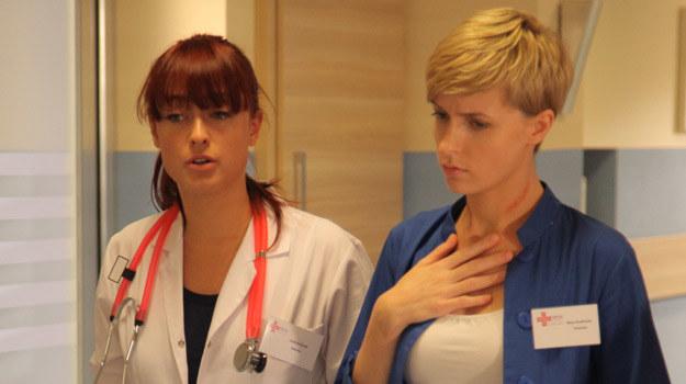 Młoda krew: Joanna (Matylda Damięcka) i Nina (Agnieszka Judycka) /Agencja W. Impact