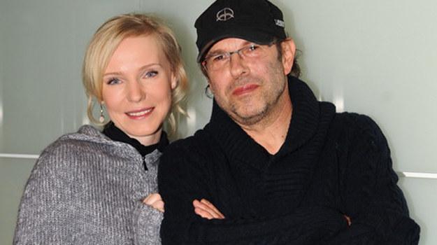 Monika Kwiatkowska-Dejczer ze swoim mężem reżyserem Maciejem Dejczerem /Agencja W. Impact