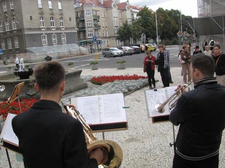 Muzycy na ulicach Szczecina /Michał Fit /RMF FM