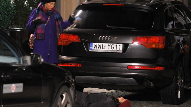 Natalia przez pośpiech potrąci żonę Michała /Agencja W. Impact