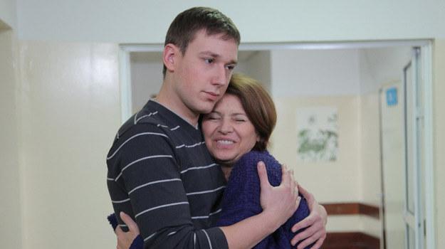 Norbert i jego mama /Agencja W. Impact