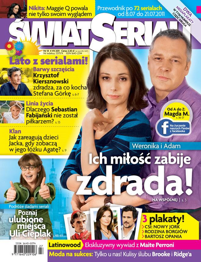 """Nowy numer """"Świata Seriali"""" /Świat Seriali"""