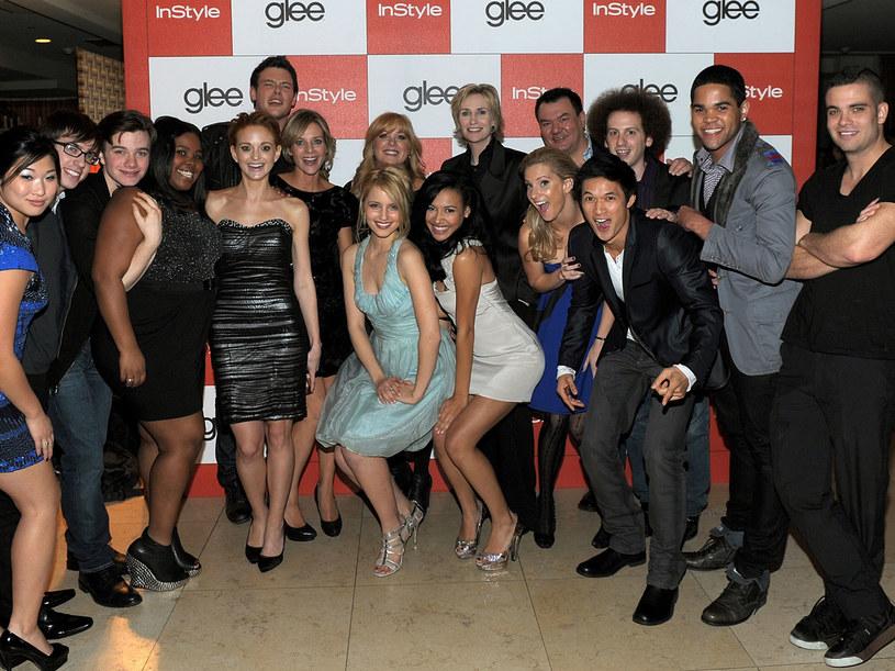 "Obsada  ""Glee"". /Michael Buckner  /Getty Images/Flash Press Media"