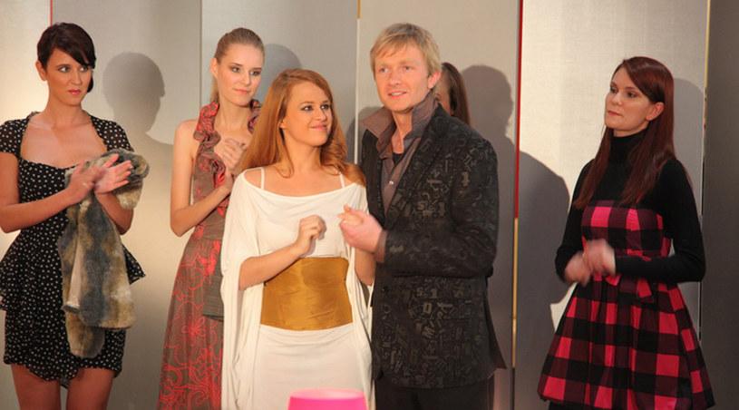 Ola (Kaja Paschalska) w roli modelki /Agencja W. Impact
