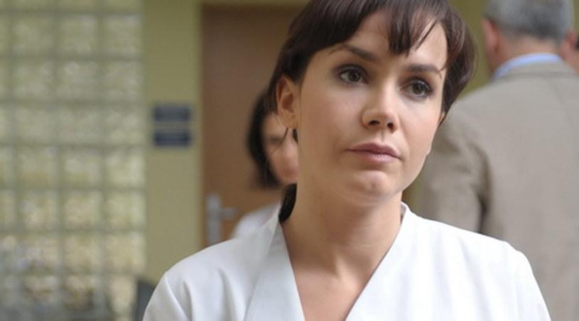 Olga Bołądź żegna się z serialem /Agencja W. Impact