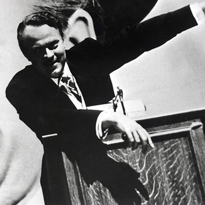 """Orson Welles w swoim arcydziele, filmie """"Obywatel Kane"""" /AKPA"""