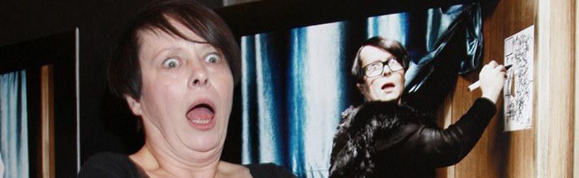 Pani Ilona ma duże poczucie humoru i dystans do siebie /Engelbrecht /AKPA
