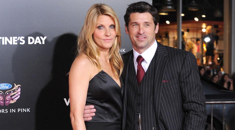 Patrick Dempsey jest ze swoją żoną - Jill już 12 lat /Frazer Harrison /Getty Images/Flash Press Media