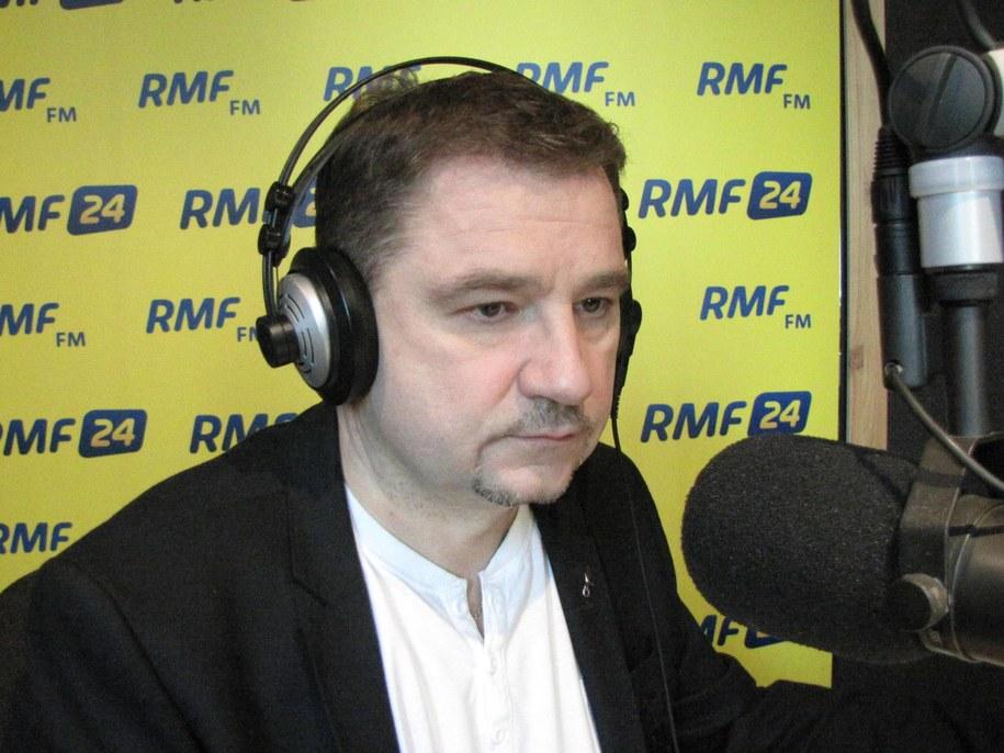 Piotr Duda /Kuba Kaługa /RMF FM