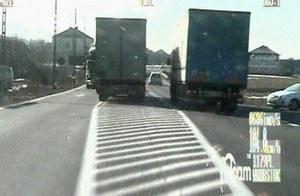 Pirat w ciężarówce /Policja