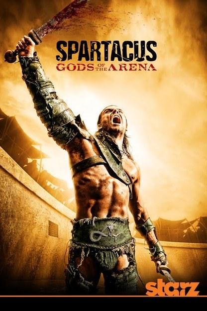 """Plakat promujący serial """"Spartakus: Bogowie areny"""" /materiały prasowe"""