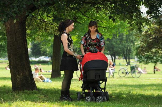 Planty. Kraków ma wiele terenów zieleni, z których korzystają mieszkańcy w pogodne popołudnia /Agencja W. Impact