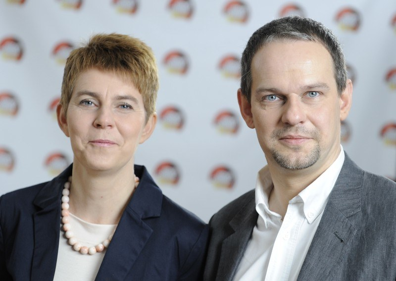 Po latach: Anna i Wojciech poszli w ślady matki. Teraz tworzą zgrany prawniczy tandem /Bartosz Krupa /East News